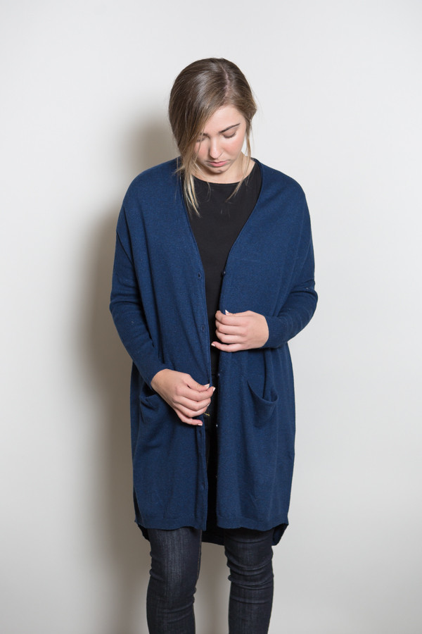 Just Female Carla Long Cardigan