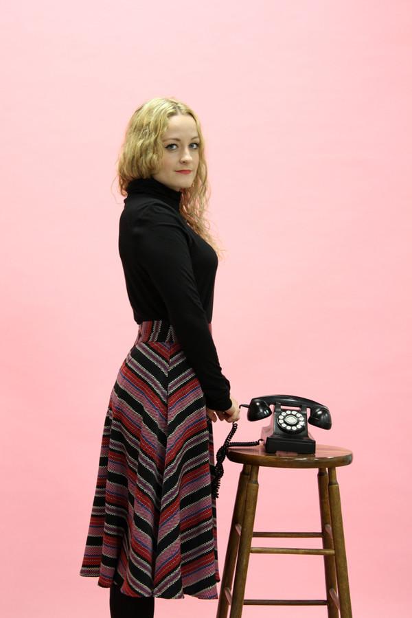 Darling Ashleigh Skirt | Wine
