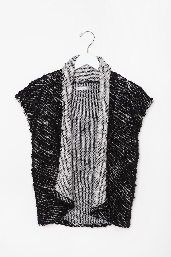 Kieley Kimmel Knit Weave Vest