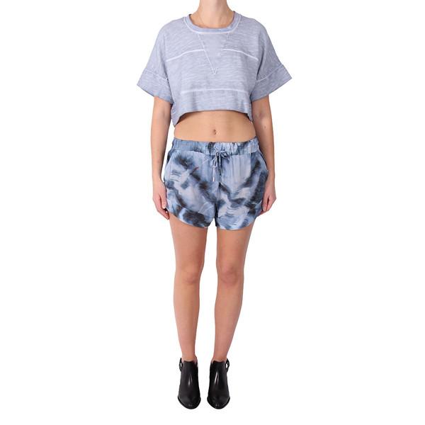 IRO Genelle Crop Sweatshirt Top