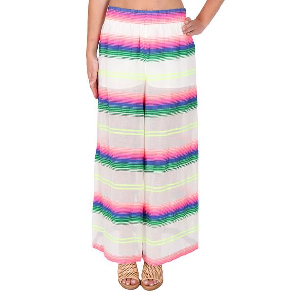 Mara Hoffman Rainbow Stripe Beach Pants