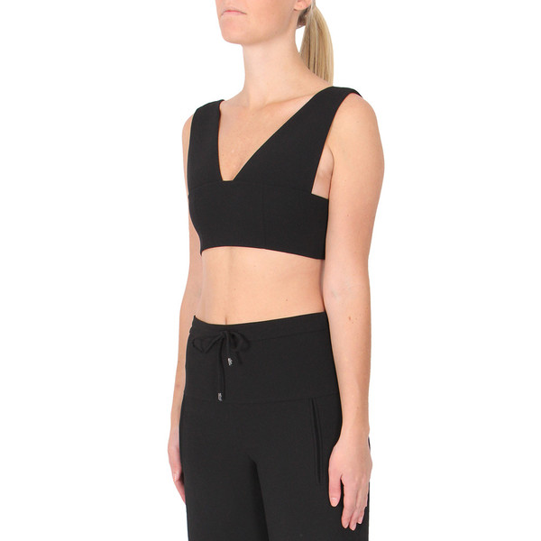 T By Alexander Wang Plunge Bralette