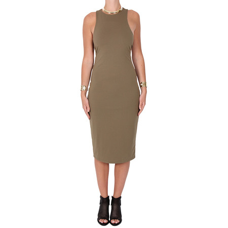 T by Alexander Wang Bandeau Back Fitted Dress