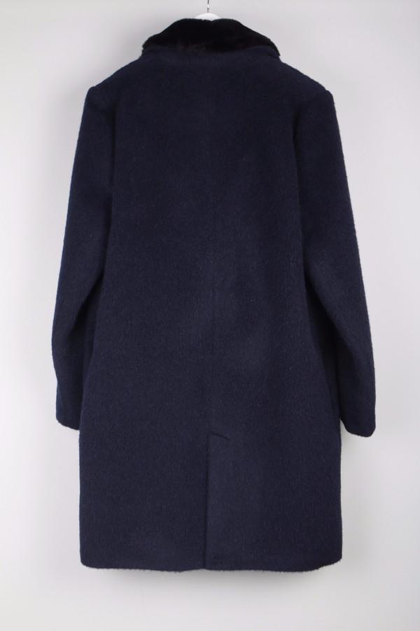 Maison Kitsune Furry Wool Classic Coat