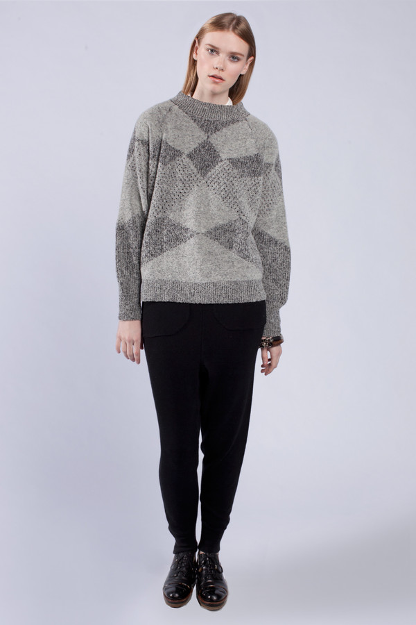 Micaela Greg Fractured Pullover
