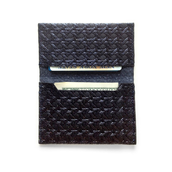 Eayrslee Henry Night Black Wallet