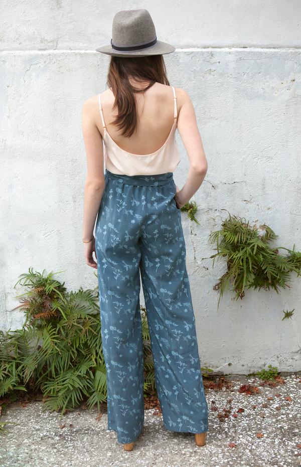 Plante Fern Pants | Pressed Petal Print