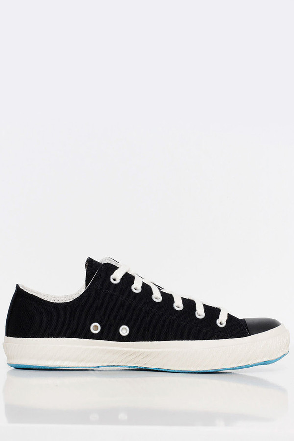 Shoes Like Pottery Black Canvas Sneaker