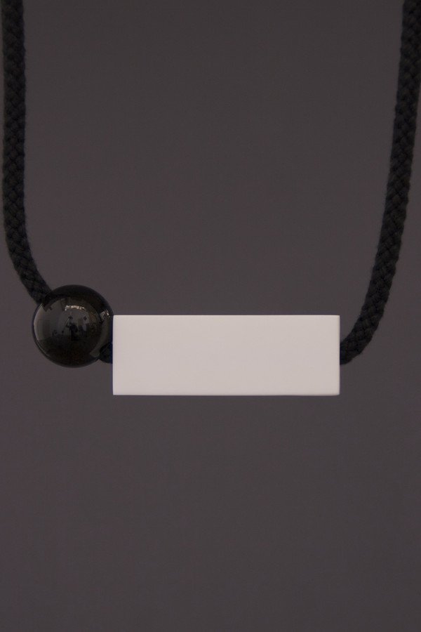 One We Made Earlier Isa Necklace Black