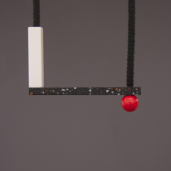 One We Made Earlier Sol Necklace Red