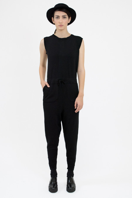 Micaela Greg Black Jumpsuit