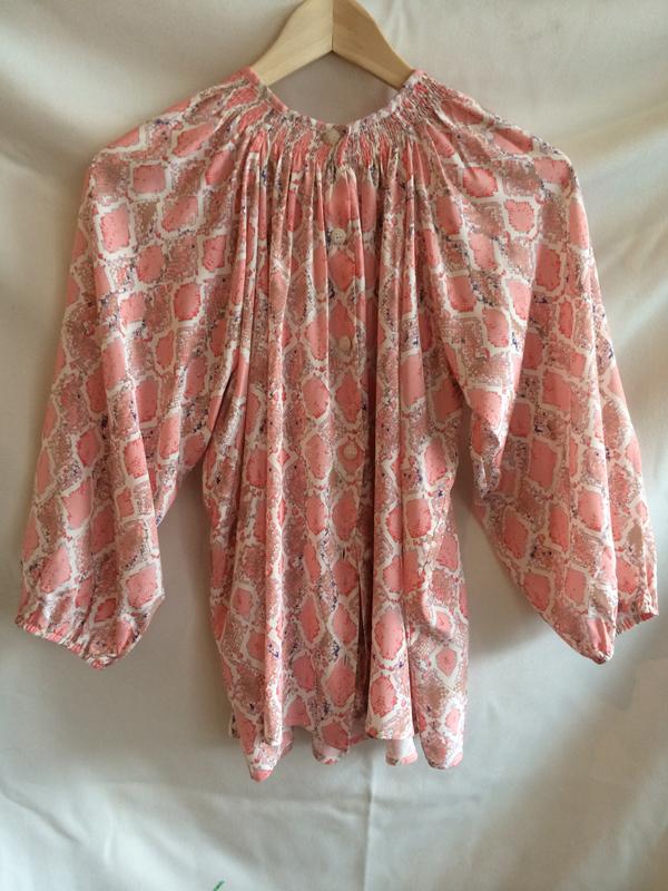 tucker classic blouse