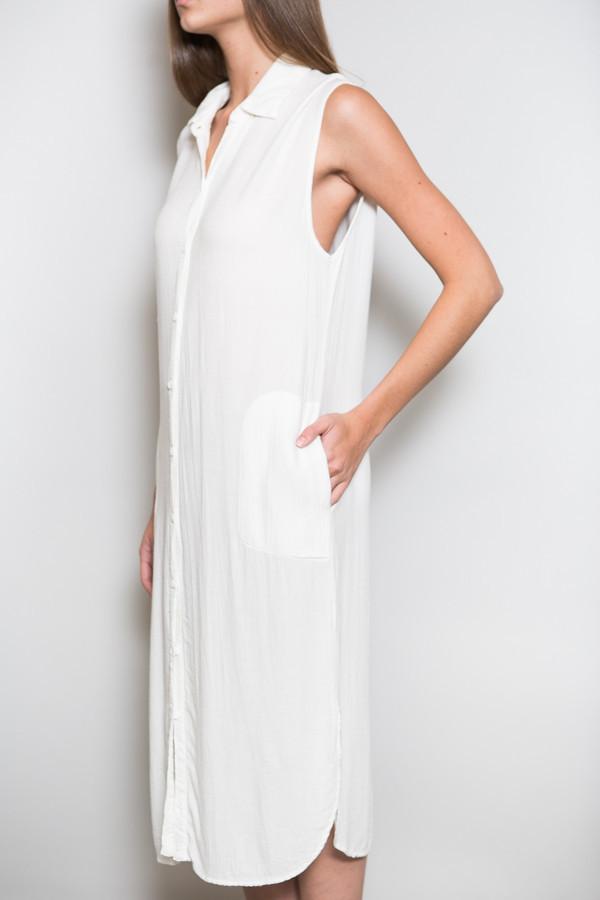 Lacausa Sleeveless Shirt Dress