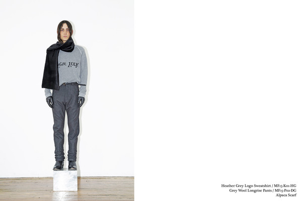 Men's Assembly Grey NY Logo Sweatshirt