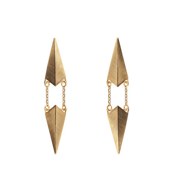 Maria Black Gold d'Ante Earring