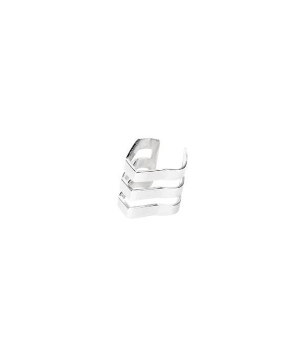 Maria Black Silver Trinity Ear Cuff