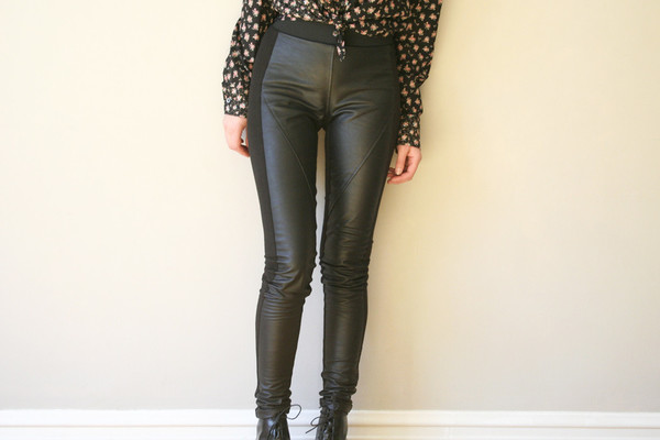 Ursa Minor Leather Leggings