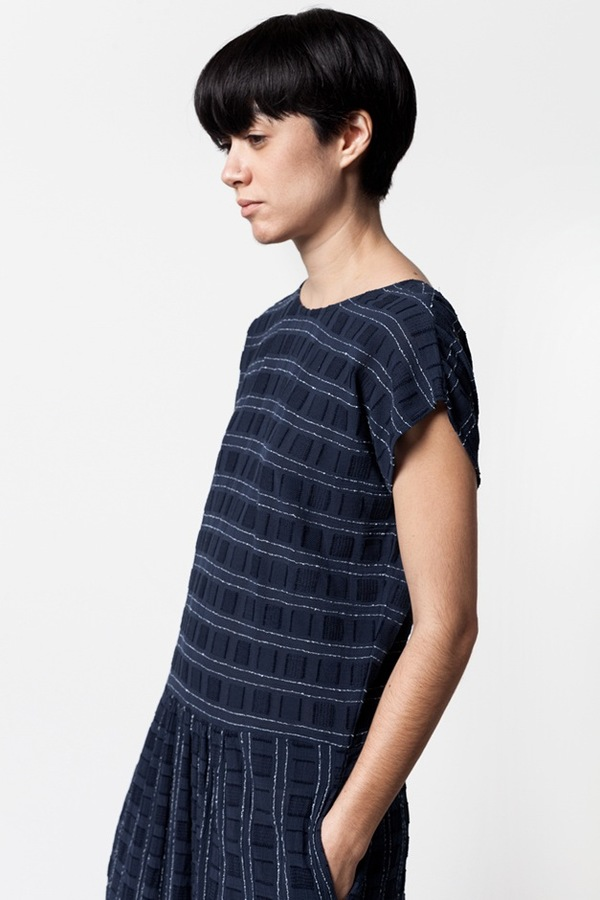 Ace & Jig Meander Dress in Eclipse