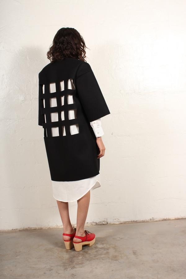 nancystellasoto Cutout Coat