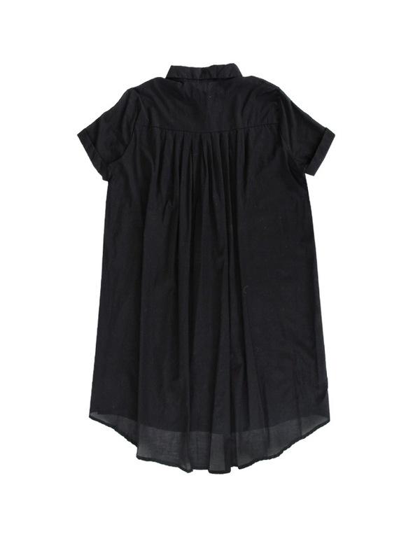 ALI GOLDEN SHIRT/DRESS - BLACK