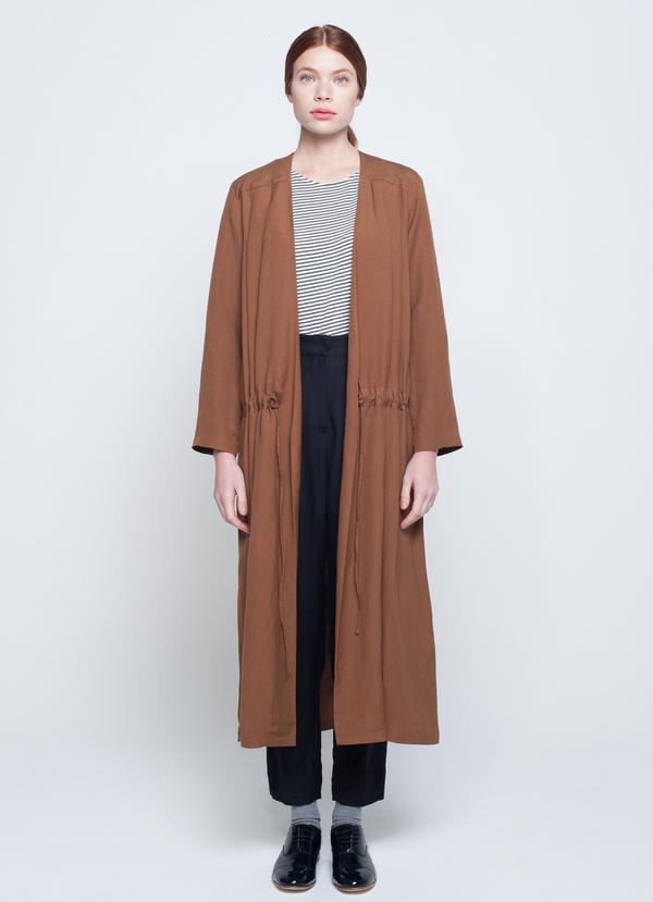 First Rite COAT DRESS - BLACK