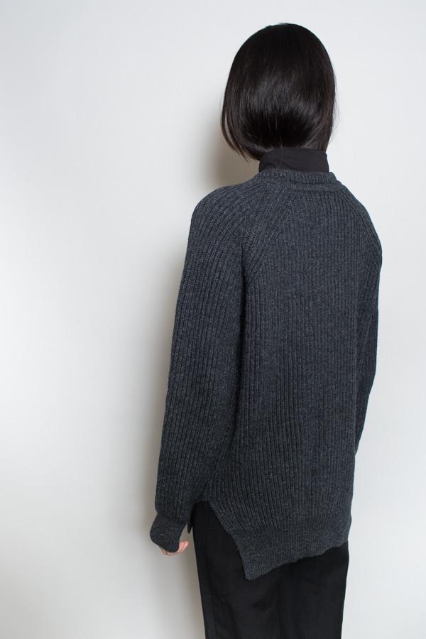 Achro Chunky Knit Round Neck Sweater