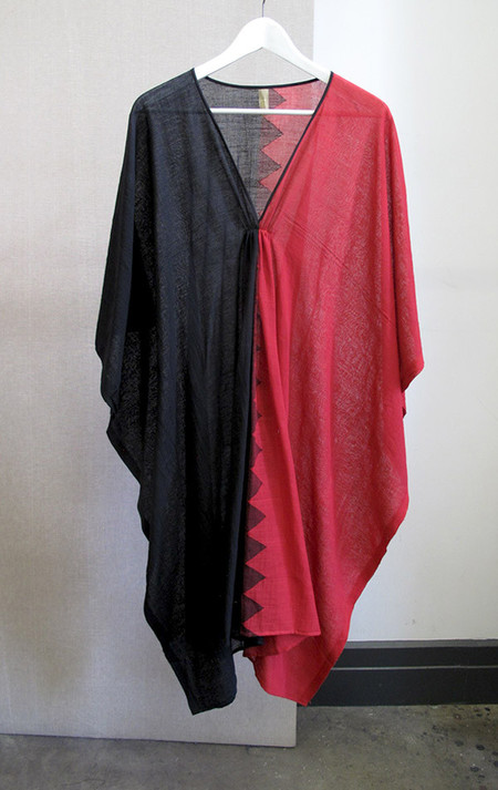 Two One of a Kind colorblock caftan