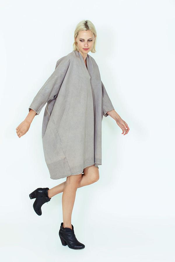 Miranda Bennett Dove Muse Dress, Denim