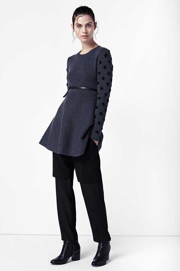 Thakoon Addition Boucle Dot Dress