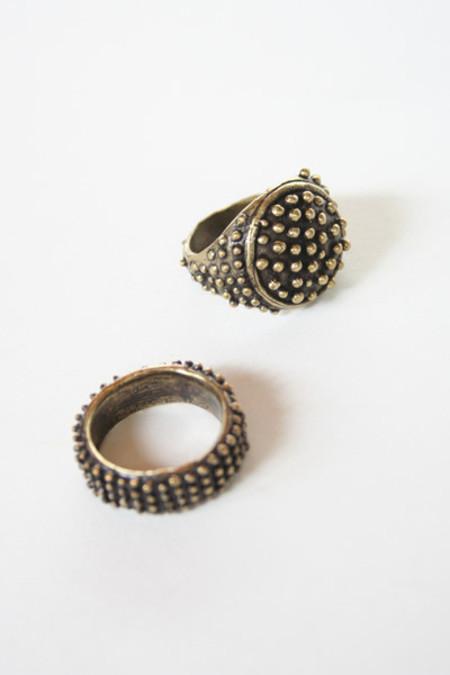 Kathryn Bentley Brass Rings