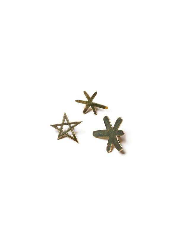 Cocteau Stars Pin Set