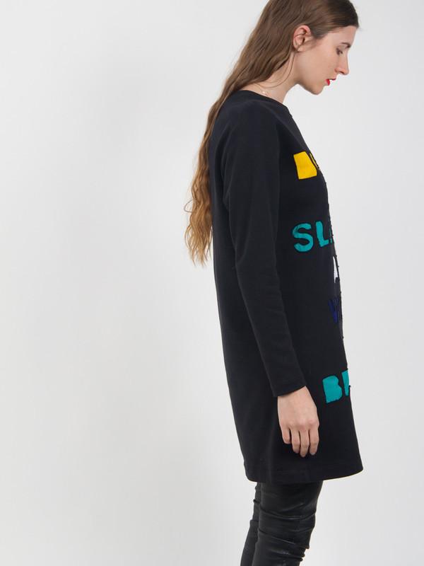 Risto Applique Sweatshirt Dress