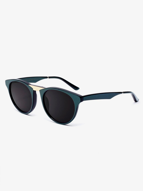 Smoke & Mirrors Black Betty Sunglasses Green