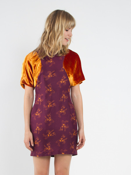 Risto Circular Sleeve Dress