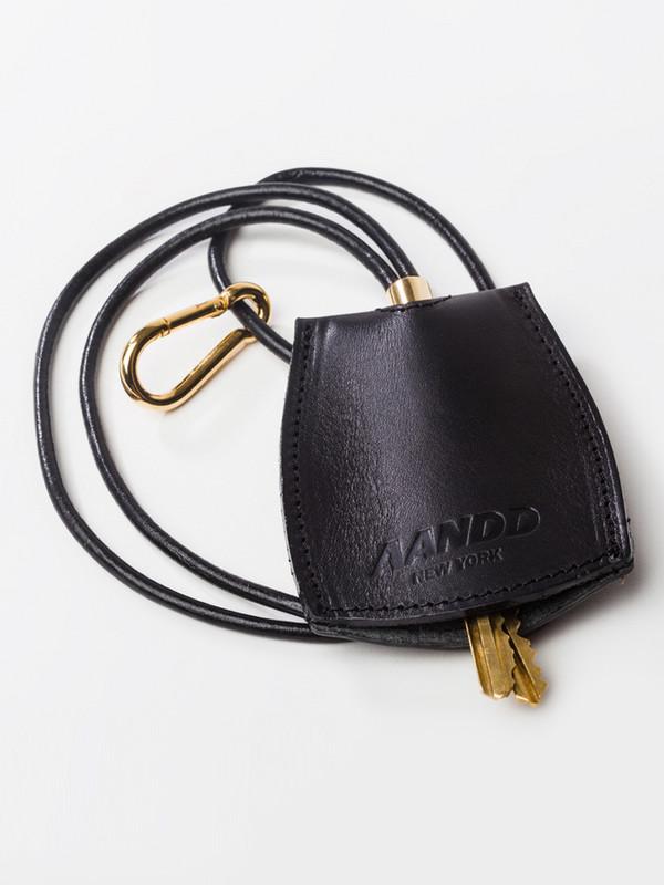 AANDD Key Lanyard Black