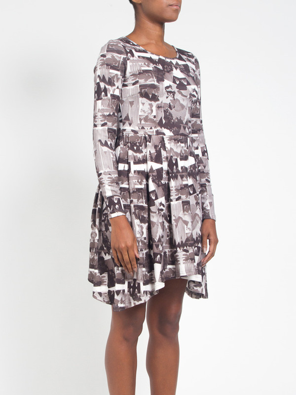 R/H Magic Moments Dress Library Print
