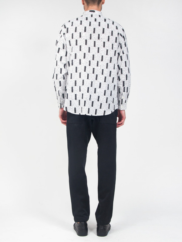 Men's Henrik Vibskov New James Shirt AOP