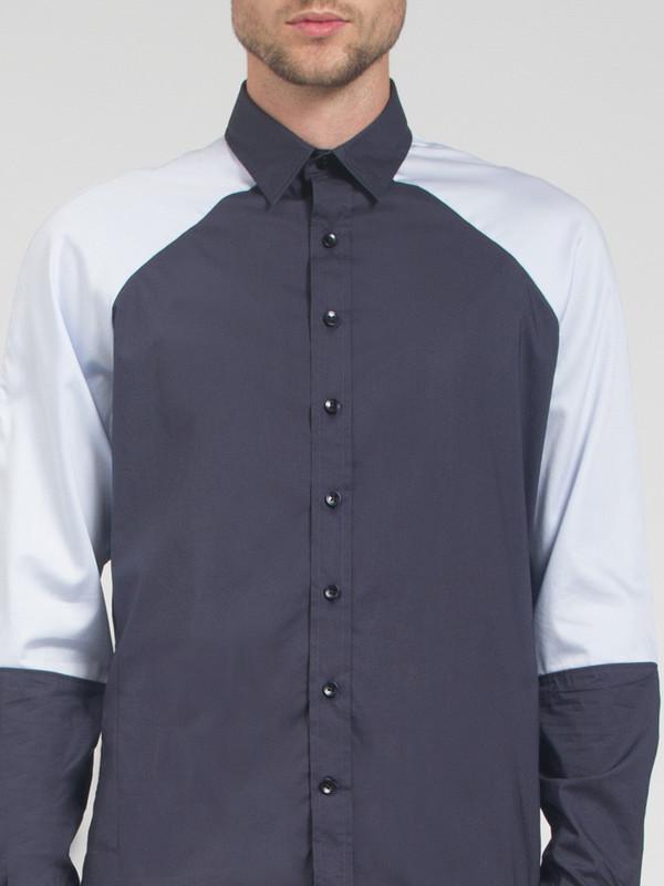 Men's Carlos Campos Raglan Color Blocked Shirt