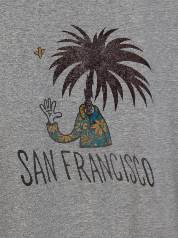 Men's Remi Relief San Francisco Tee Heather Grey