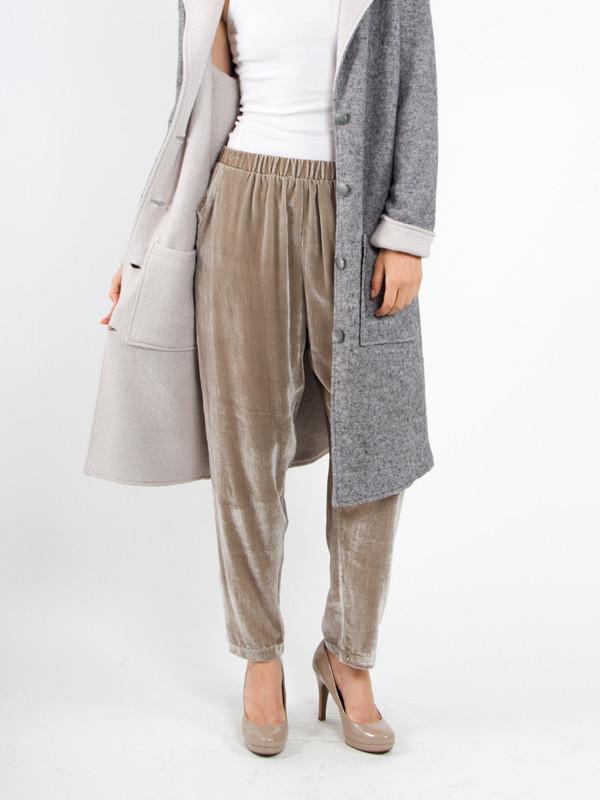 Rita Liefhebber Silk Velvet Pants
