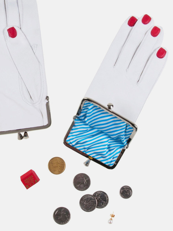 Welcome Companions White Glove Coin Purse