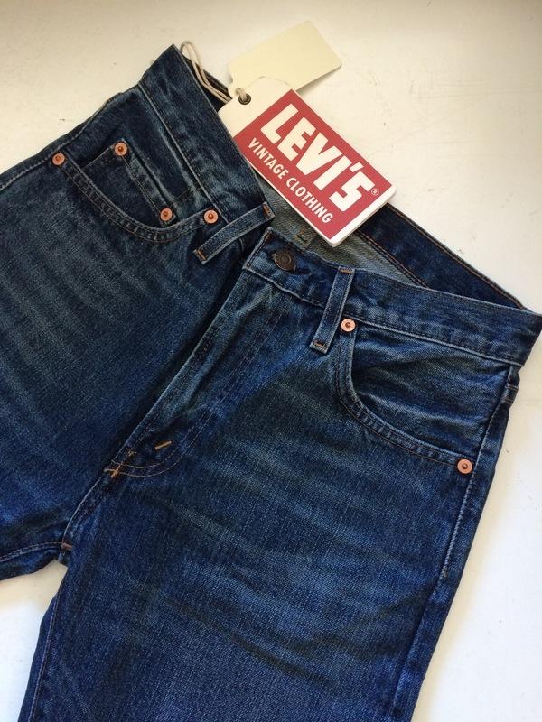 Men's Levis Vintage Clothing 505 1967 Jackfish