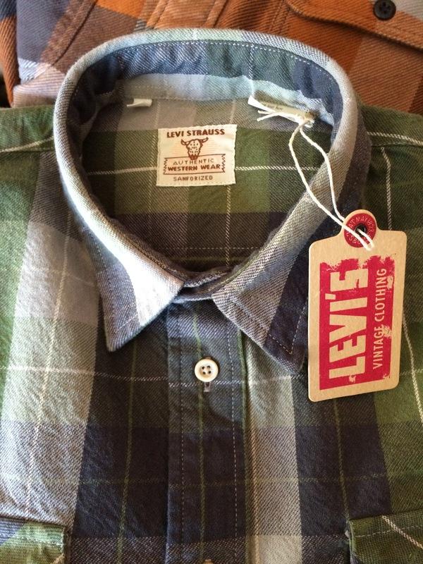 Men's Levis Vintage 1950 Shorthorn Shirt