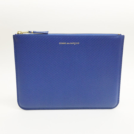 Comme des Garcons - Luxury Group Large Blue Zip-up Pouch