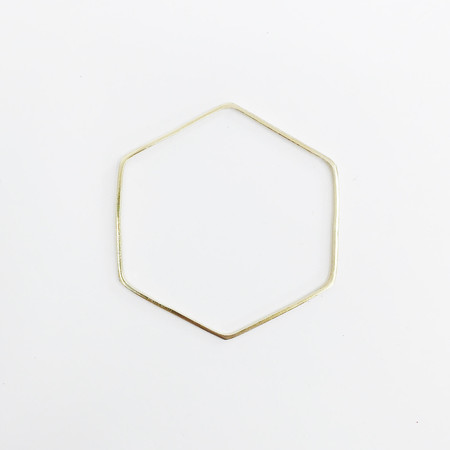 Twenty Two Hours Skinny Hex Bangle