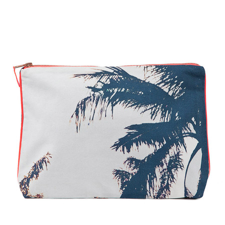 Dezso by Sara Beltran JAIPUR PALM CANVAS POUCH