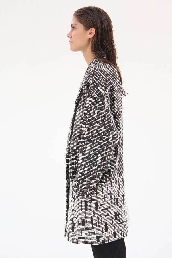 Apiece Apart Map Weave Coat