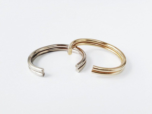 The Things We Keep Brass Leize Cuff