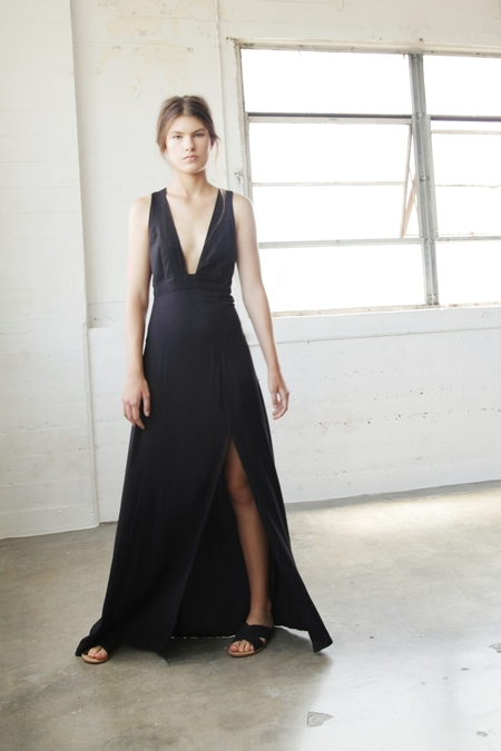 Barrington Maxi Dress in Black