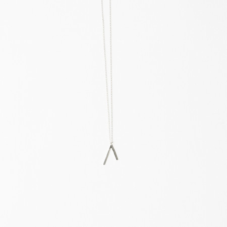 Another Feather Silver Dart Necklace